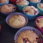 Erdbeer-Muffins
